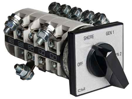 Csii Cam Switches for higher loads. Padocks, solenoid locks and tandem operators available.